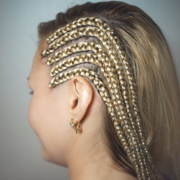 Cornrow Extension Braiding