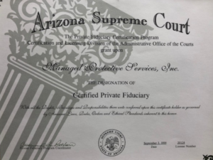 Managed Protective Services - Certified Private Fiduciary