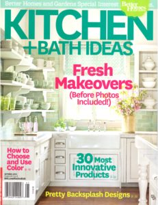 Kitchen and Bath Ideas - Spring 2014 cover