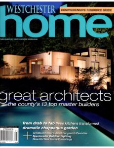 Westchester Home Spring 2012 Cover