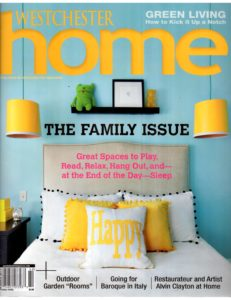 Westchester Home - Spring 2014 Cover