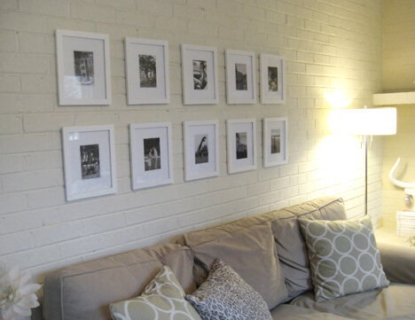 hanging-a-grid-of-black-and-white-frames-wall-art-hang-how-to