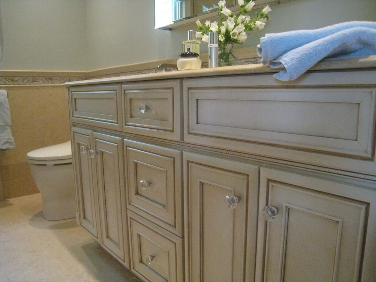 Master Bathroom Remodel by Susan Marocco Interiors - Harrison NY 1517