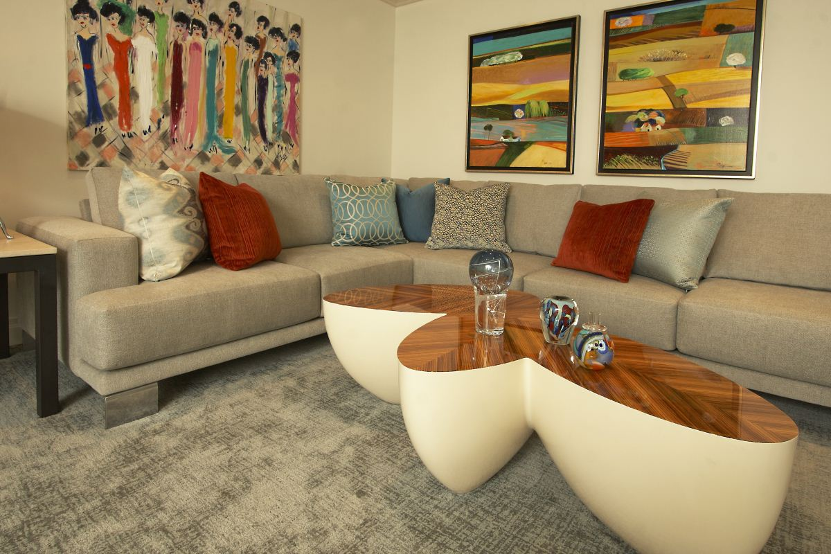 Susan Marocco Interiors After Sofa