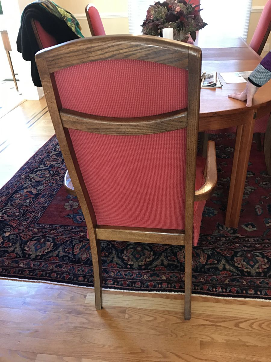 Susan Marocco Interiors Dining Chair Before 2