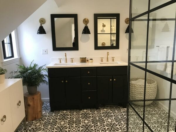 Master Bath Renovation by Susan Marocco Interiors