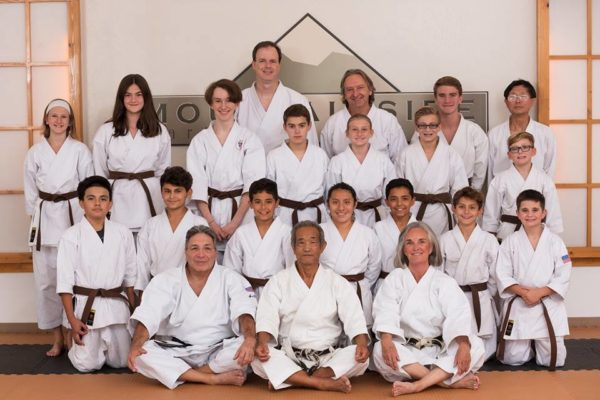 Brown belt group