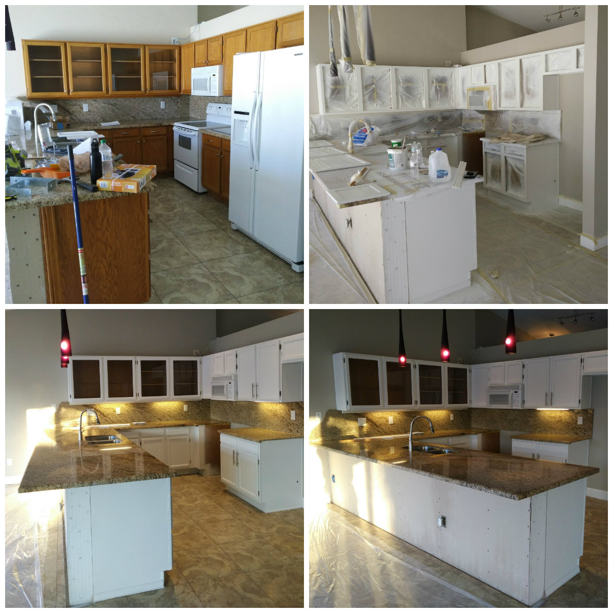 Kitchen Cabinet Refinishing by Kinos