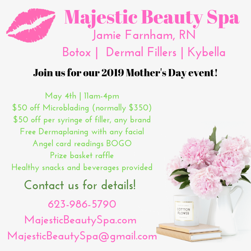 Mothers Day Graphic Majestic Beauty Spa