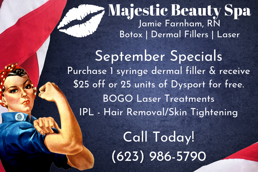 Majestic Beauty Spa 2019 September Specials